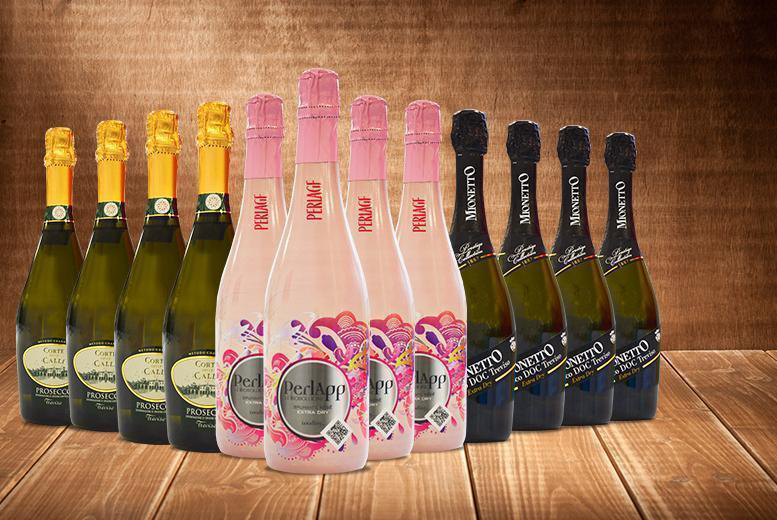 £69 instead of £140.40 (from San Jamon) for 12 bottles of award-winning organic Prosecco - save 51%