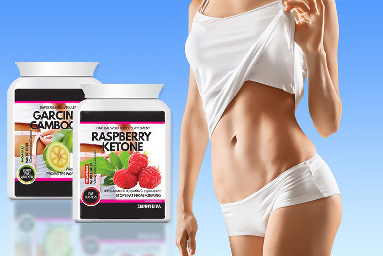 £17 instead of £99.98 (from Skinny Diva) for a three-month* supply of raspberry ketone and garcinia cambogia capsules - save 83%