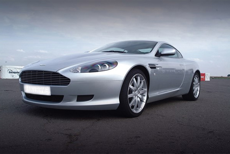 £59 for an Aston Martin driving experience with high-speed passenger ride at one of over 20 locations from Buyagift!