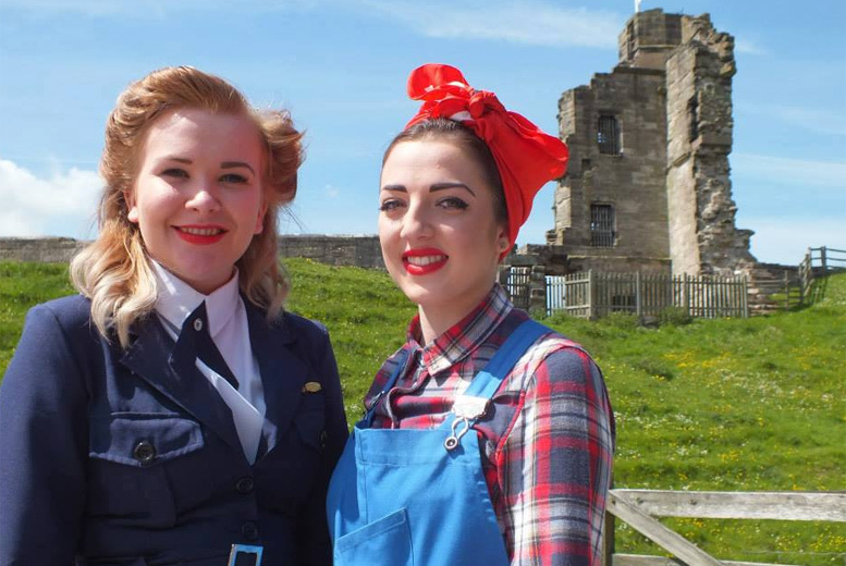 £5 instead of £12 for two adult tickets to the 'Operation Tutbury Castle' 1940s day, £10 for two adults and up to three kids - save up to 58%