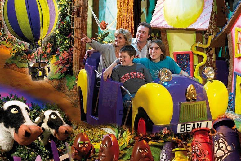 £109 for an overnight Birmingham hotel stay for two people with breakfast and entry to Cadbury World, £139 for a family of three or £149 for a family of four