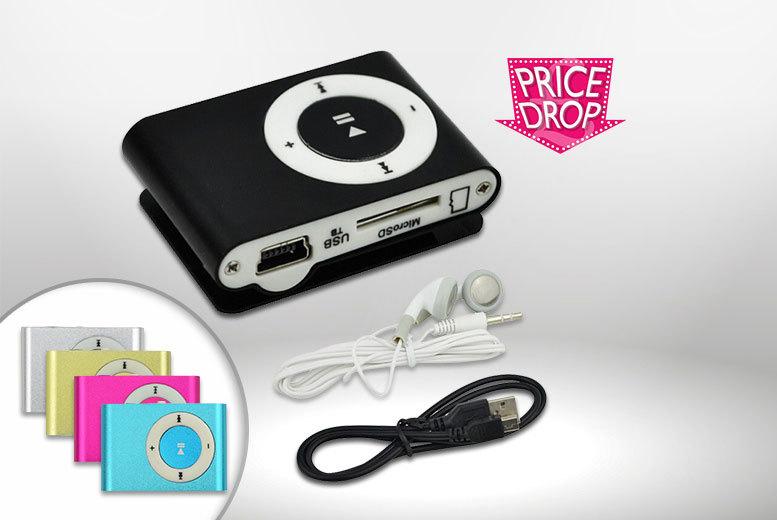 Mini MP3 Player - 5 Colours!