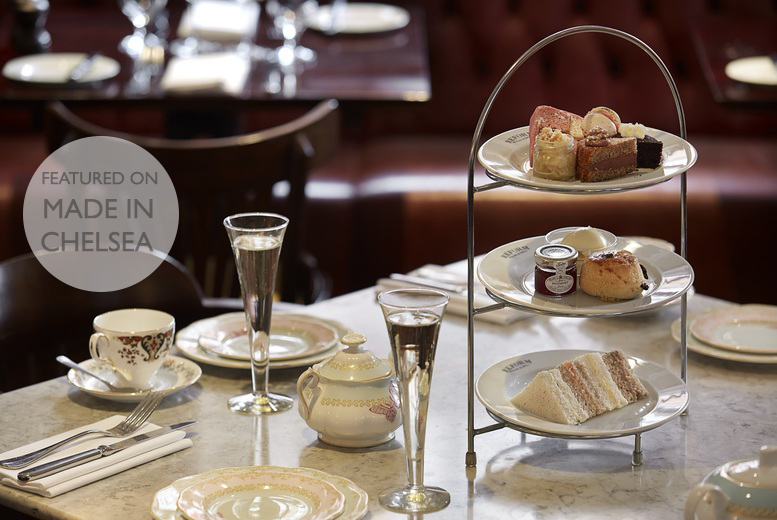 £38 instead of £68 for a vintage afternoon tea for two people including a glass of Prosecco each at Reform Social and Grill, Marylebone - save 44%