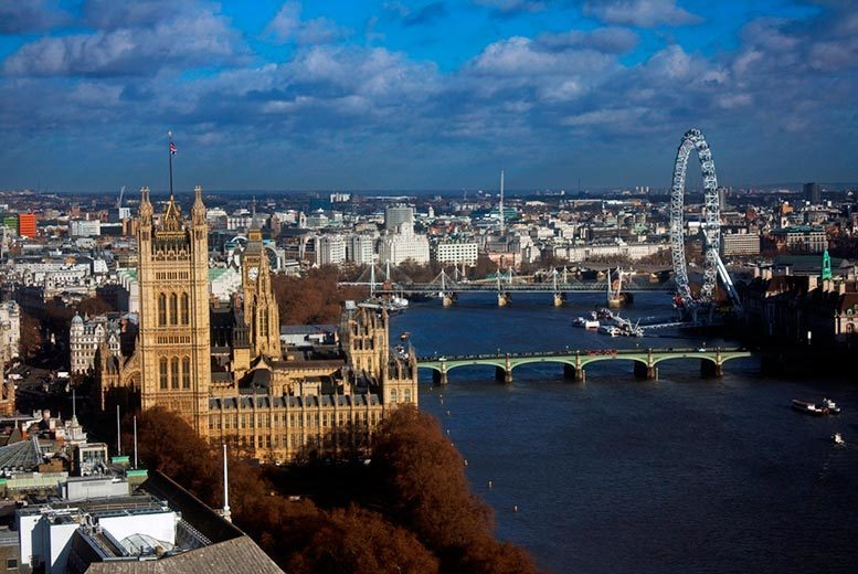 From £10 for a ticket to the Ultimate London Viewing Platform at #TheView, Westminster - save up to 60%