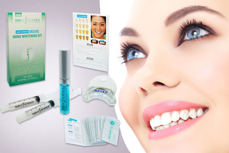 £21 instead of £103 (from Face London) for a teeth whitening combo kit - save 80%