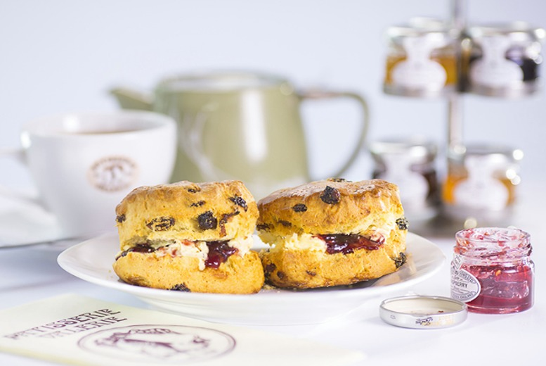 £5 instead of £10.20 for cream tea for two people at Patisserie Valerie - choose from over 120 UK locations and save 51%