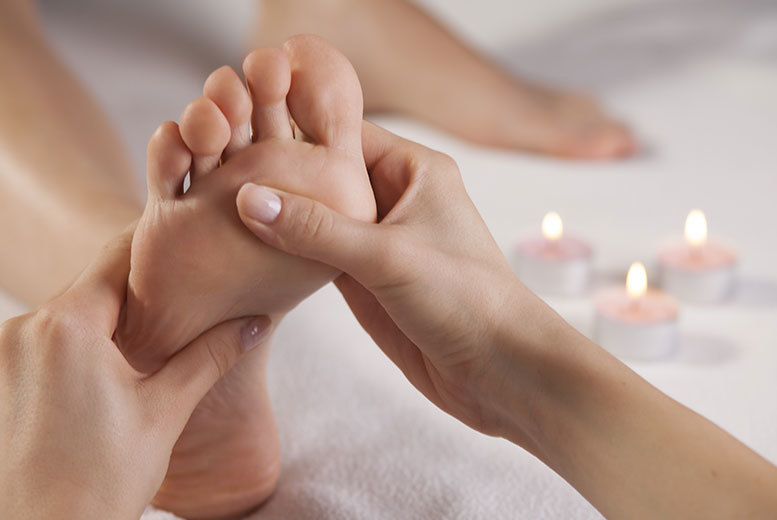 £19 instead of up to £50 for a one-hour reflexology session with a leg and foot massage at Mademoiselles Beauty, Bearsden - save up to 62%