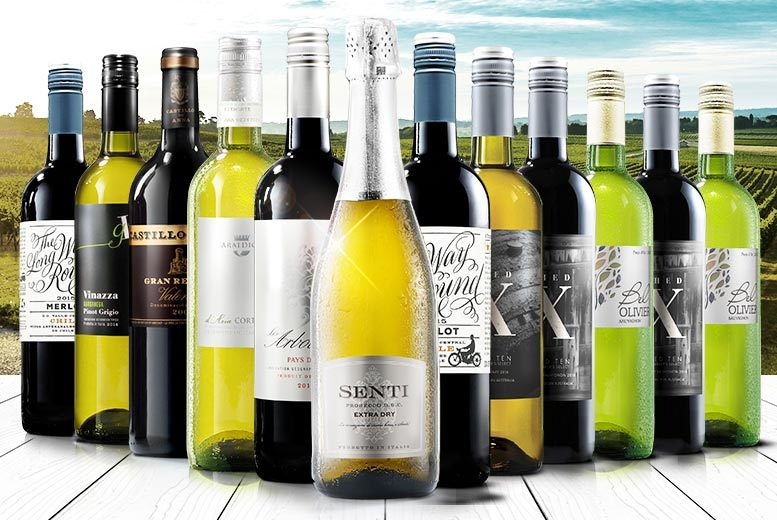 £39 (from Virgin Wines) for a 12-bottle selection of hand-crafted boutique wine including a bottle of Prosecco - choose from three varieties and save up to 65%
