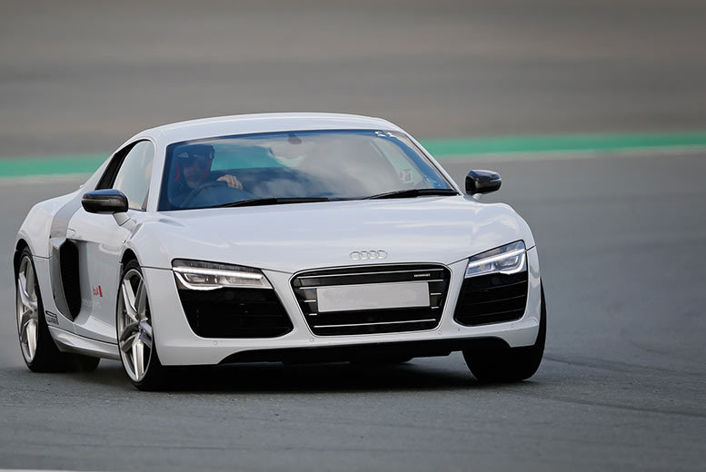 £69 instead of up to £119 for an Audi R8 thrill driving experience from Activity Superstore - choose from ten locations and save up to 42%