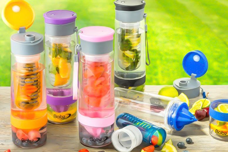 fruit infusing bottle