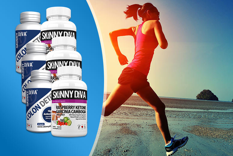 £9 instead of £69.98 (from Skinny Diva) for a one-month* supply of raspberry ketone garcinia and colon detox capsules, £19 for a three-month* supply - save up to 87%