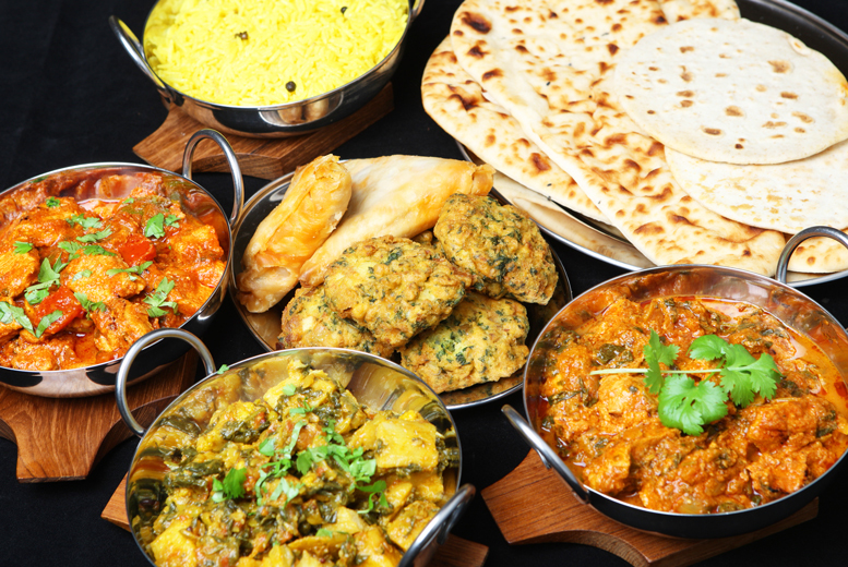 £12 instead of up to £25.80 for an 'all you can eat' five-course Indian buffet for two people Taste Indian Cuisine, Glasgow - save up to 53%
