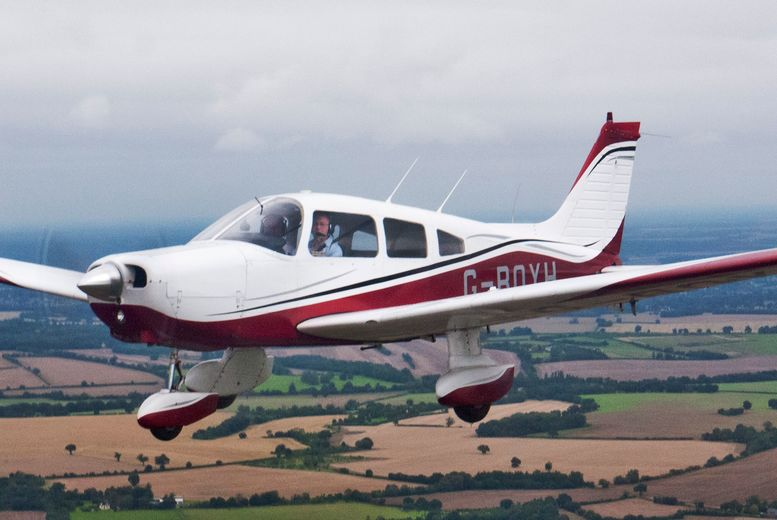 £99 for a 30-minute flying lesson and six-month membership for one or £189 for a 60-minute flying lesson and membership for two at Bristol Flying Club - save up to 69%