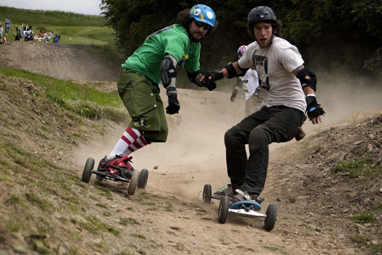 £12 instead of £25 for a beginner's mountain board experience including one hour of tuition and two hours of free time at Hale's Board And Bike Park, Chester - save 52%