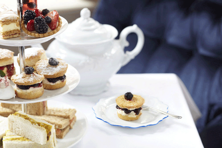 £14 instead of £29.90 for an afternoon tea for two people, £18 with a glass of Prosecco each at the Ethos Hotel, Oxford - save up to 53%