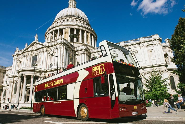 £11 instead of £22.50 for a child 'hop on, hop off' London bus tour ticket, £22 for an adult ticket from Big Bus Tours - see the sights and save up to 51%
