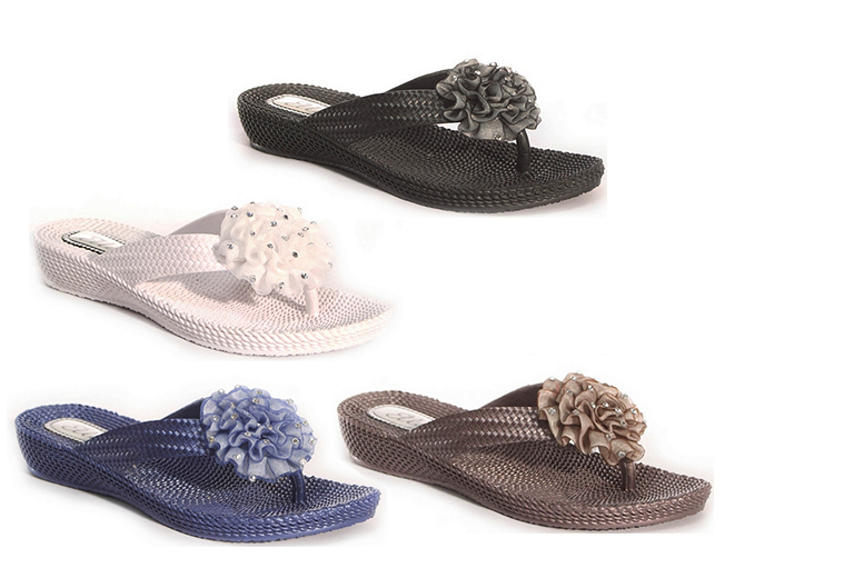 Summer Wedge Sandals - 4 Colours!