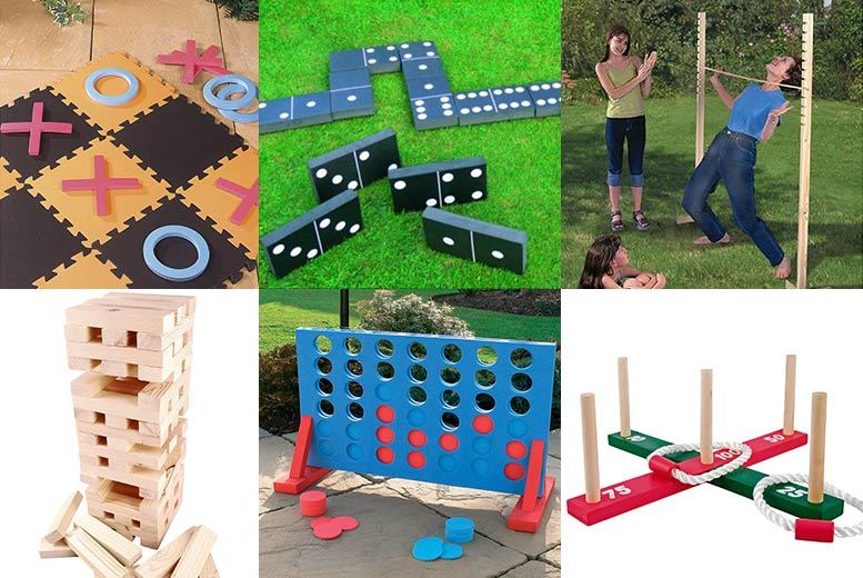 From £5 (from Hungry Bazaar) for a choice of six garden games - choose quoits, dominoes, jenga and more and save up to 80%