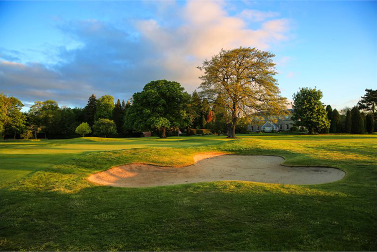 £29 instead of £130 for 18 holes of championship golf for two people with bacon roll and a drink each at MacDonald Linden Hall Golf & Country Club, Northumbria - save 78%