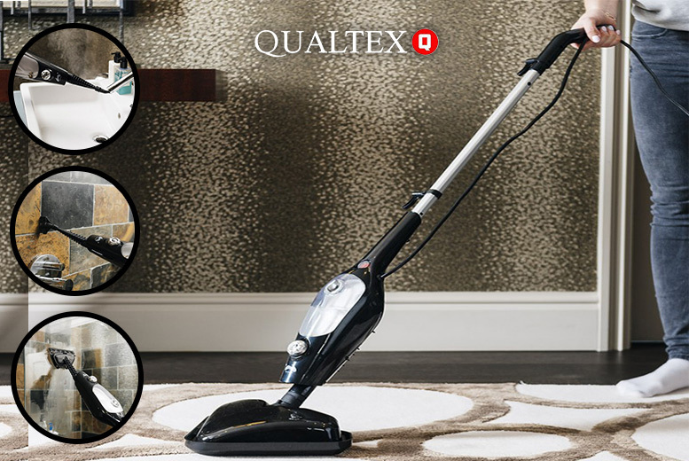 13-in-1 High-Powered 1500W Steam Mop for £24.99