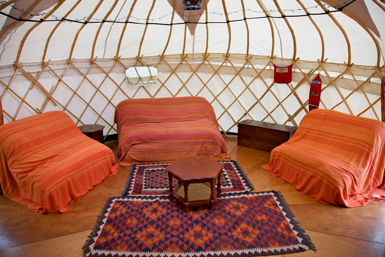 £129 instead of £360 (from Inside Out Camping, Lake District) for a four-night glamping break in a yurt for up to four - save 64%