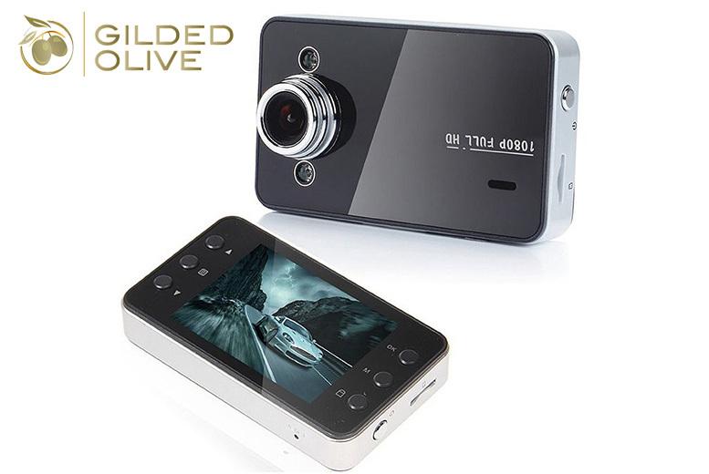 2.7″ Full HD Car Dash Cam for £9.99