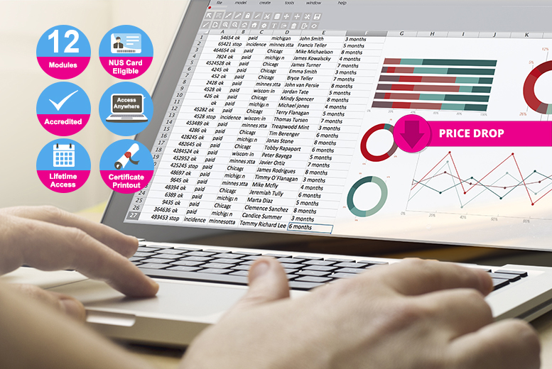 Accredited Excel Course Bundle