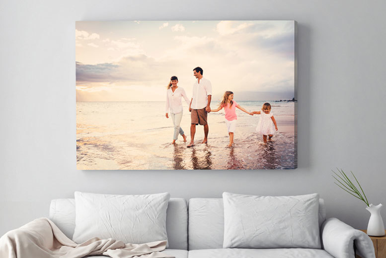 £9.99 instead of £59.99 (from Deco Matters) for a personalised A1 canvas - save 83%