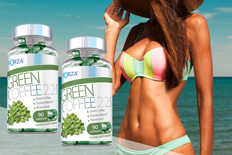 £9 instead of £25.54 (from Nutriodol) for a two-month* supply of Forza green coffee 'fat burner' capsules - save 65%