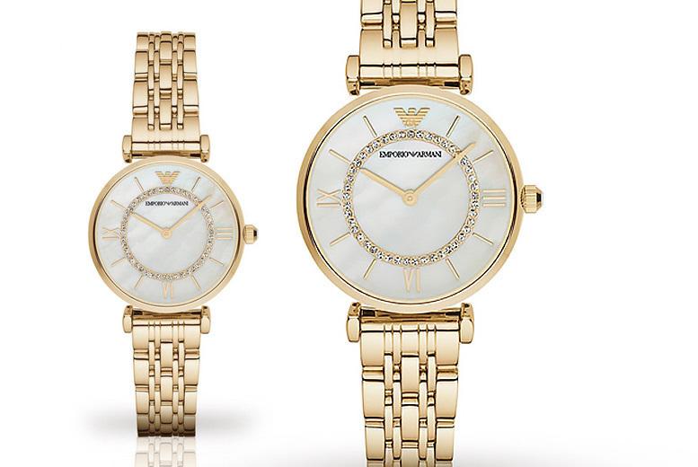 Ladies' AR1907 Gold Emporio Armani Watch