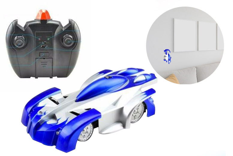 Wall Climbing Remote Control Car- 2 Colours! for £14
