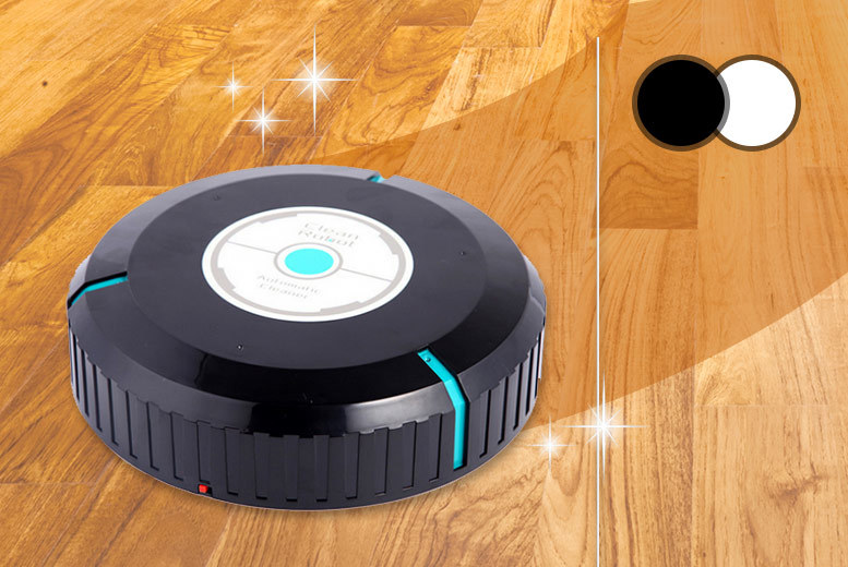 Robotic Floor Sweeper – 2 Colours! for £12