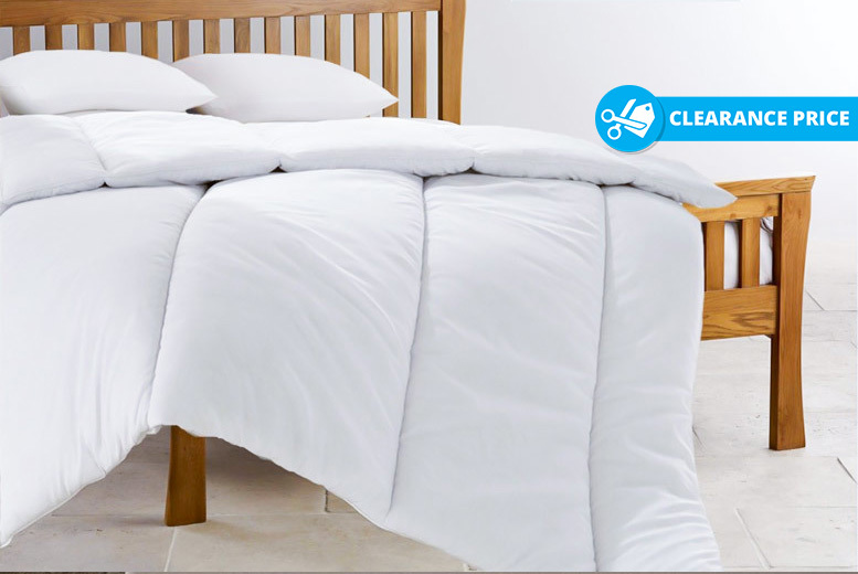 Super Bounce Back 13.5 Tog Winter Duvet – CLEARANCE STOCK! from £7.99