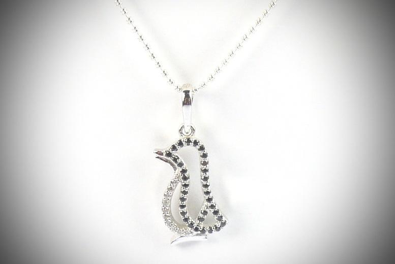 Penguin Pendant & Chain for £12