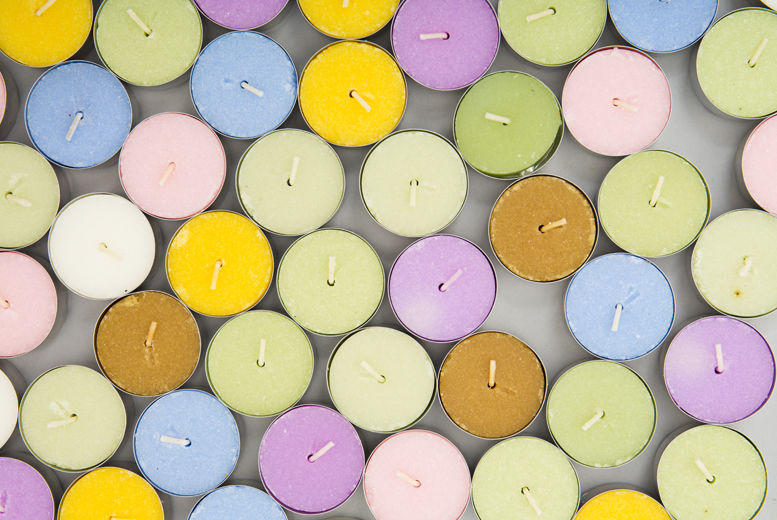 18 Assorted Tea Lights for £4.99