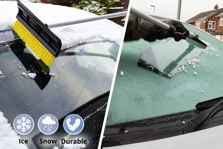 2-in-1 Telescopic Car Snow Brush & Ice Scraper for £7.99