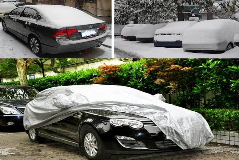 Waterproof Full Car Cover – 3 Sizes! from £14