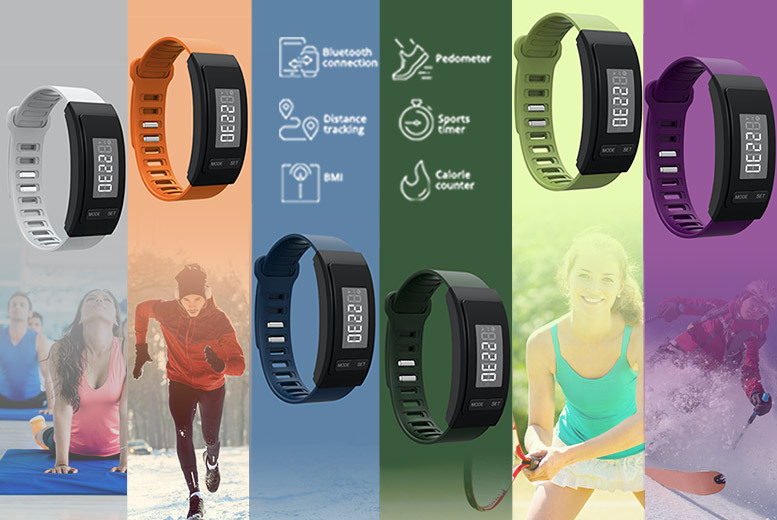 9-in-1 'WOW-FIT' Unisex Fitness Watch - 6 Designs!