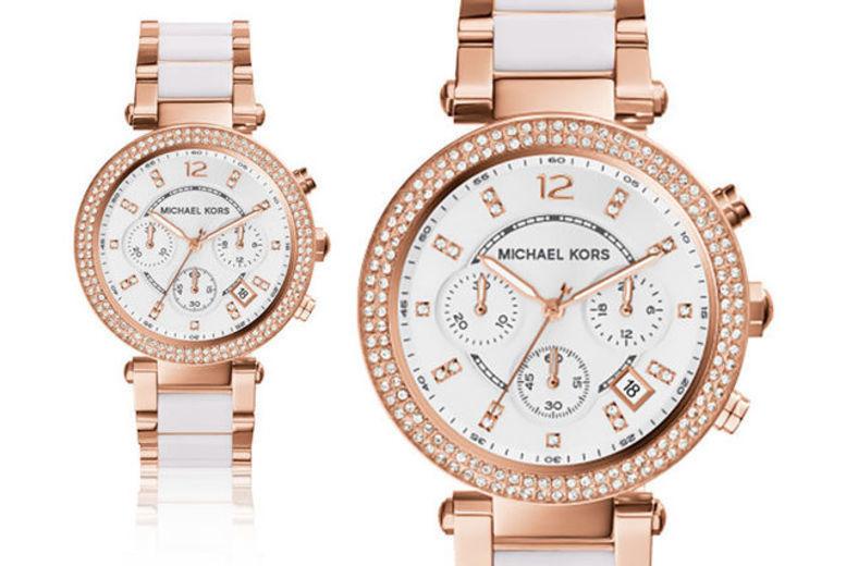 Michael Kors Ladies' 2-Tone Watch