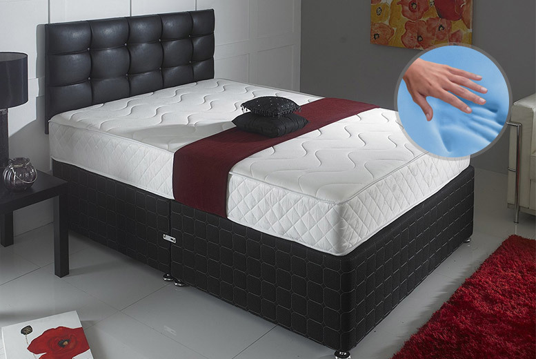 9-Inch Cool Blue Memory Spring Mattress - 5 Sizes!