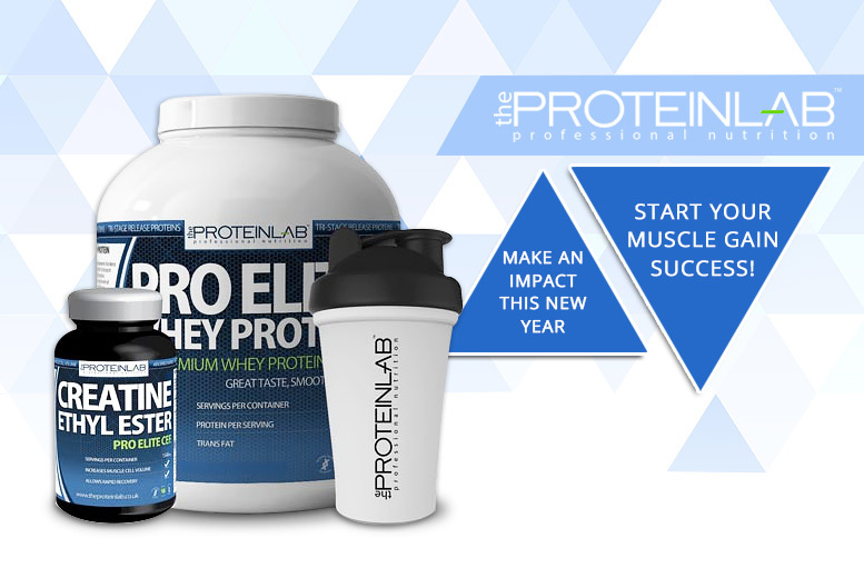 Pro Elite Whey Protein & Creatine from £39