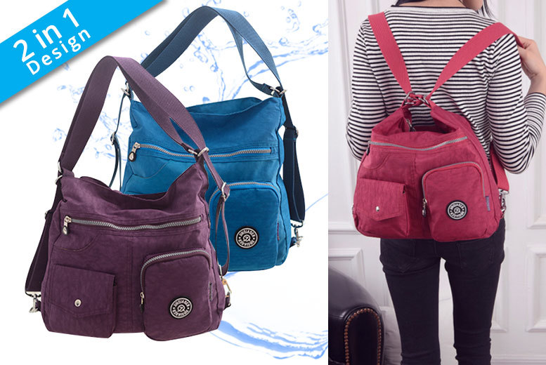 Waterproof 2-in-1 Dacron Bag – 11 Colours! for £12.99