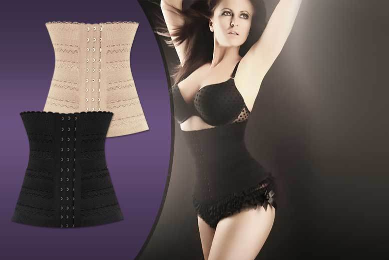 Pin-Up Waist Trainer' – 2 Colours! for £6.99