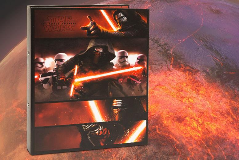 A4 Star Wars Kylo Ren Ring Binder for £1.99