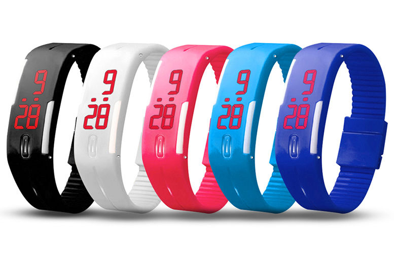 Kids' LED Digital Activity Watch – 5 Colours! for £7.99