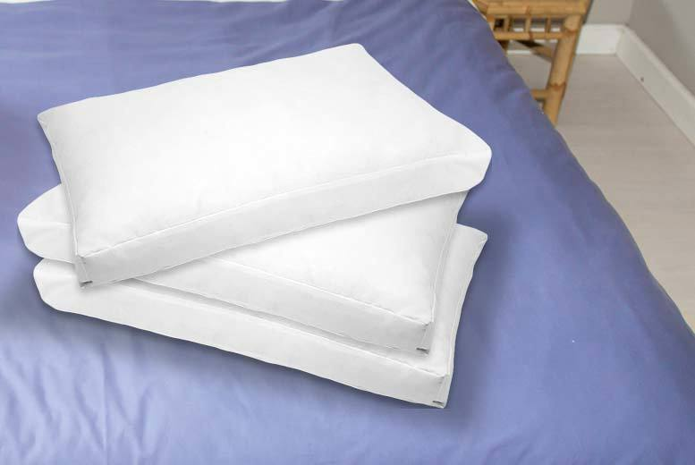 Luxury Deep Fill Box Pillows from £14.99