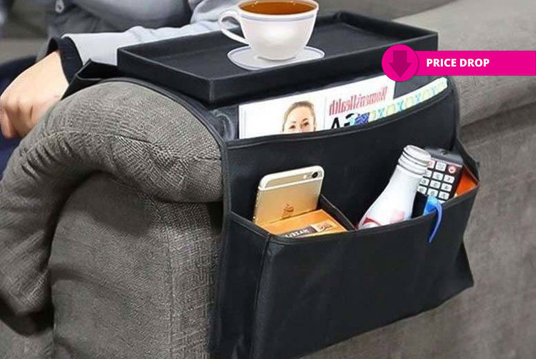 Six-Pocket Arm Rest Organisers for £4.99