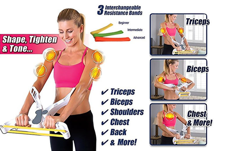 Resistance Band Upper Body Workout Machine