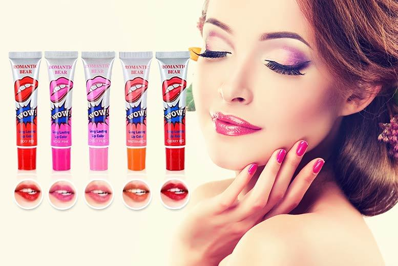 £2 instead of £19.99 for a tube of brush-on, peel-off 12-hour lip colour - save 90%