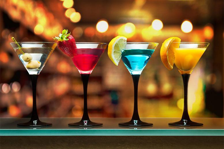 £9 instead of £25 for a one-hour cocktail masterclass including two drinks and nibbles for one person, or £18 for two people at Dice Bar, Croydon - save up to 64%